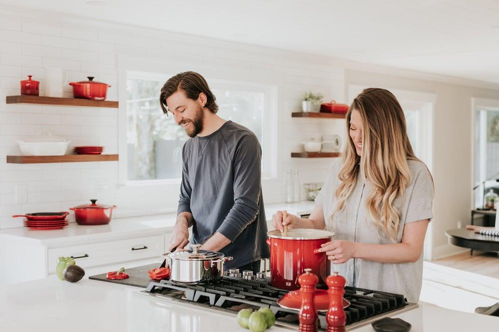 cocina cocinar open kitchen